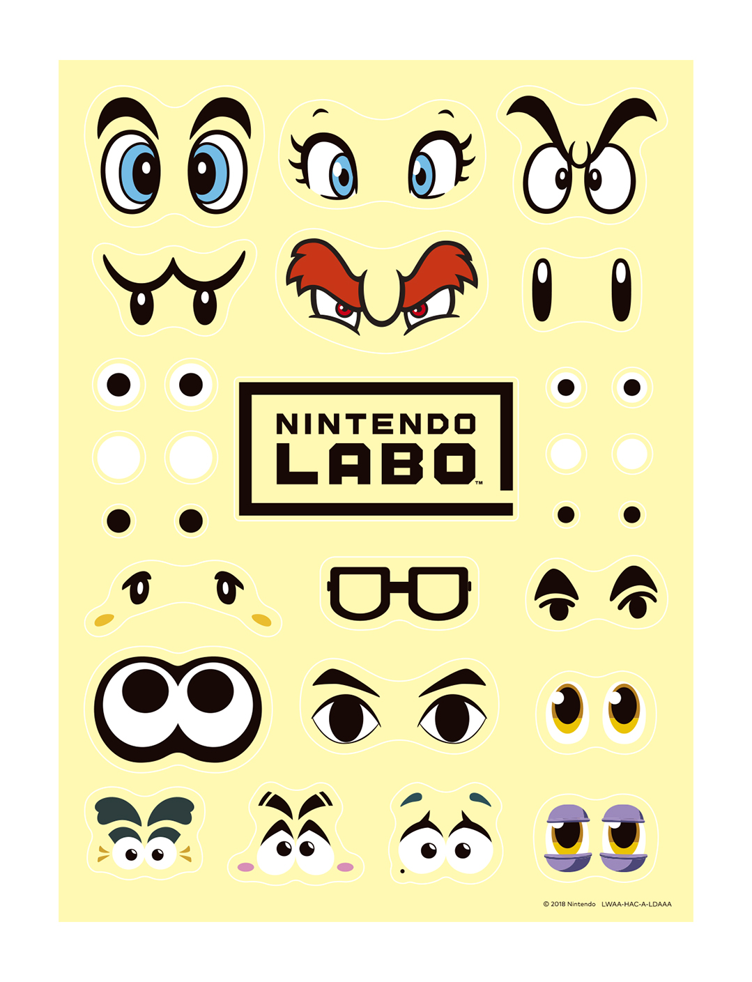 Switch labo customizationset 3